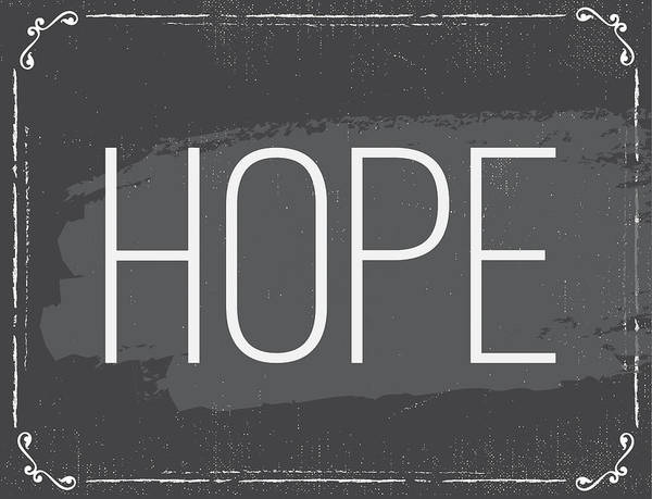 Wall Art - Painting - Hope by Nd Art & Design