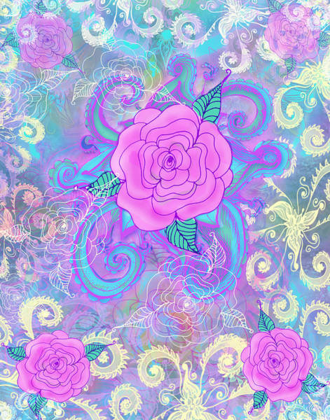 Wall Art - Photograph - Hope Roses by MGL Meiklejohn Graphics Licensing