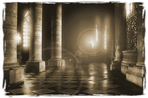 Notre Dame Photograph - Hope Shinning Through by Mike McGlothlen