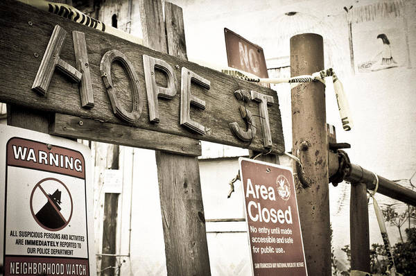 Photograph - Hope Street by Priya Ghose