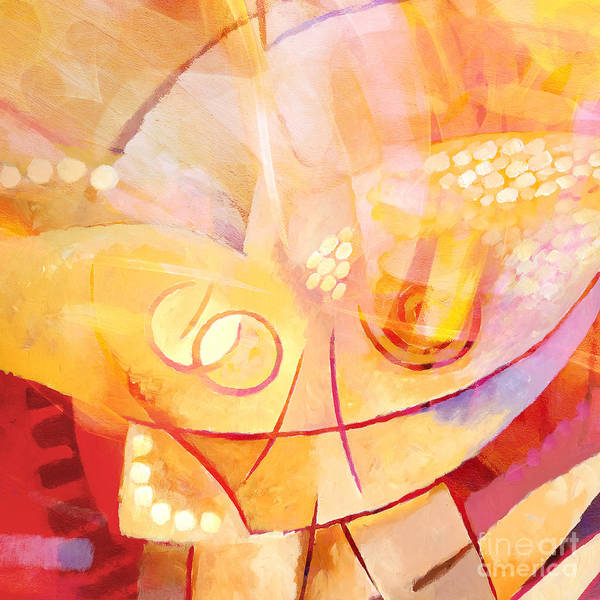 Painting - Hopeful by Lutz Baar
