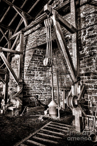 Historic Site Photograph - Hopewell Furnace by Olivier Le Queinec