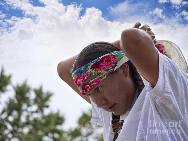 Photograph - Hopi Indian Preparing  by Brenda Kean