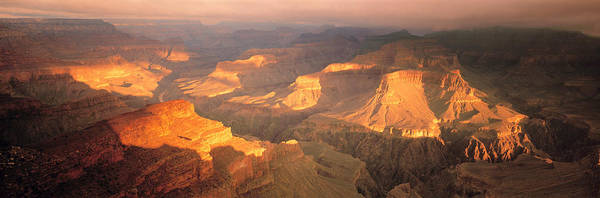Geologic Formation Photograph - Hopi Point Canyon Grand Canyon National by Panoramic Images