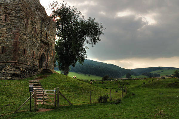Photograph - Hopton Castle by Sarah Broadmeadow-Thomas