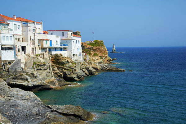 Andros Photograph - Hora, Andros Island, Cyclades, Greek by Tuul / Robertharding