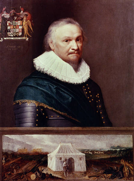Painting - Horace Vere (1565-1635) by Granger
