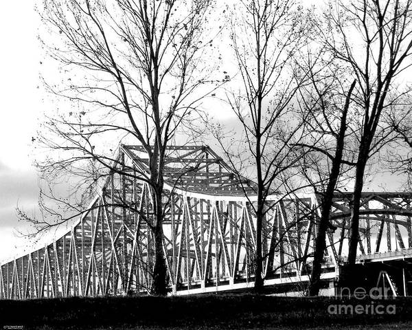 Photograph - Horace Wilkinson Bridge Baton Rouge La by Lizi Beard-Ward