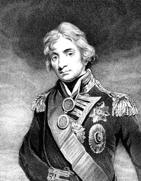 Trafalgar Photograph - Horatio Nelson by Collection Abecasis