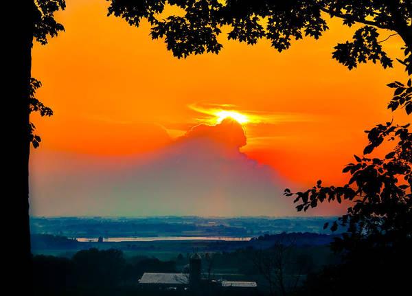 Wall Art - Photograph - Horicon Sunset by Anna-Lee Cappaert