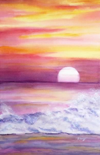 Painting - Horizon by Betty M M   Wong