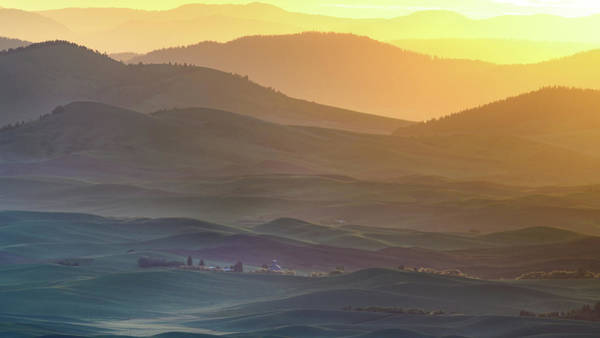 Horizons Photograph - Horizon Profile Of Palouse by ??? / Austin
