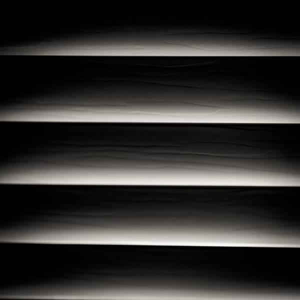 Photograph - Horizontal Blinds by Darryl Dalton