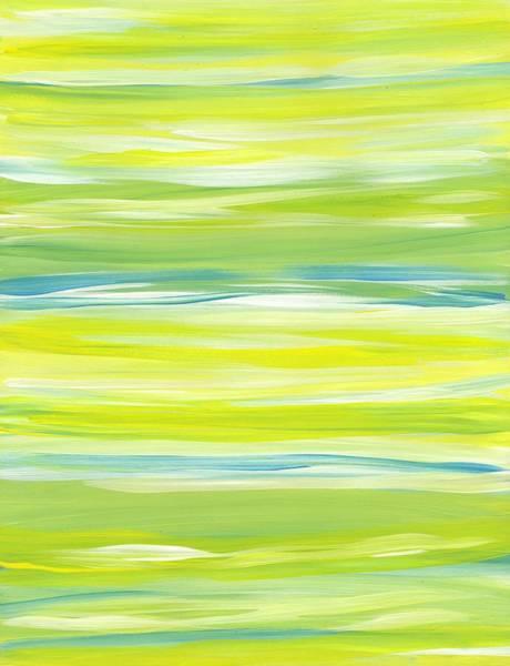Painting - Horizontal Stripes by Barbara St Jean