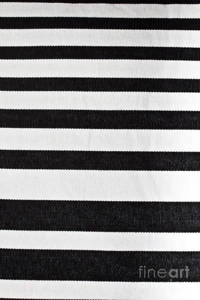 Wall Art - Photograph - Horizontal Strips Pattern Fabric  by IB Photography