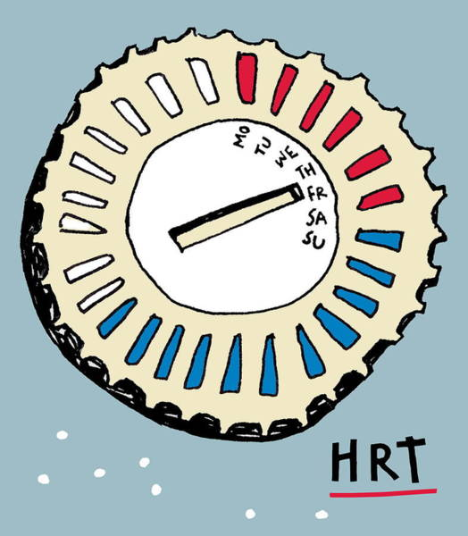 Pharmacology Wall Art - Photograph - Hormone Replacement Therapy by Anna Wright/science Photo Library