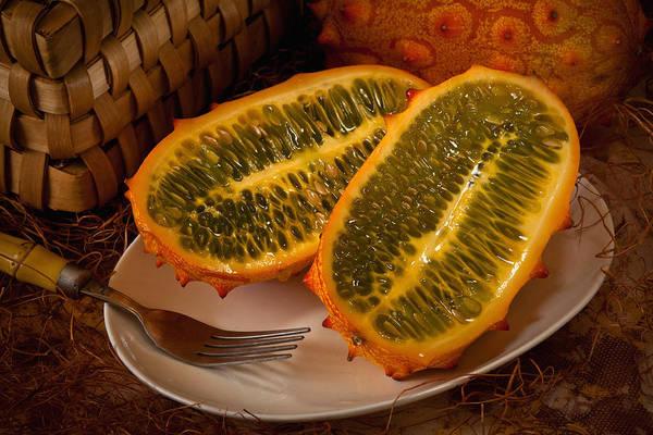 Horned Melon0541 Art Print
