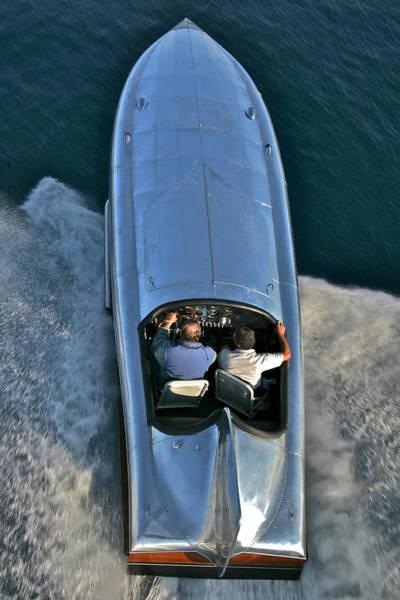Photograph - Hornet II Race Boat by Steven Lapkin
