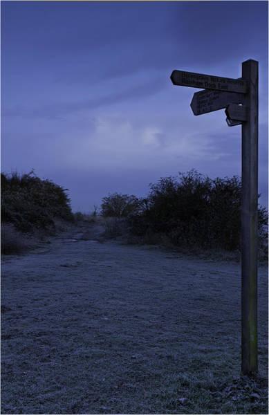 High Country Wall Art - Photograph - Horrid Hill Straight Ahead by Nigel Jones