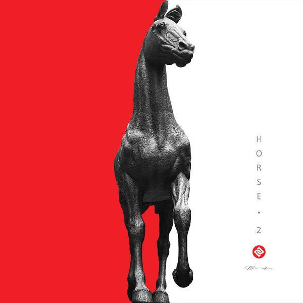 Digital Art - Horse 2 by David Davies