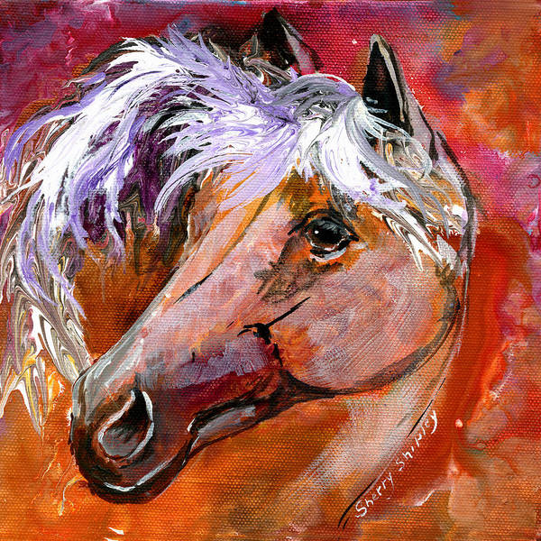 Painting - Horse 2 by Sherry Shipley