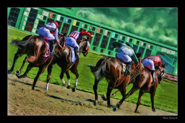 Photograph - Horse Away by Blake Richards