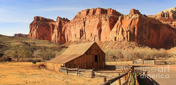 Fruita Photograph - Horse Barn In Fruita Utah 2708 by Jack Schultz