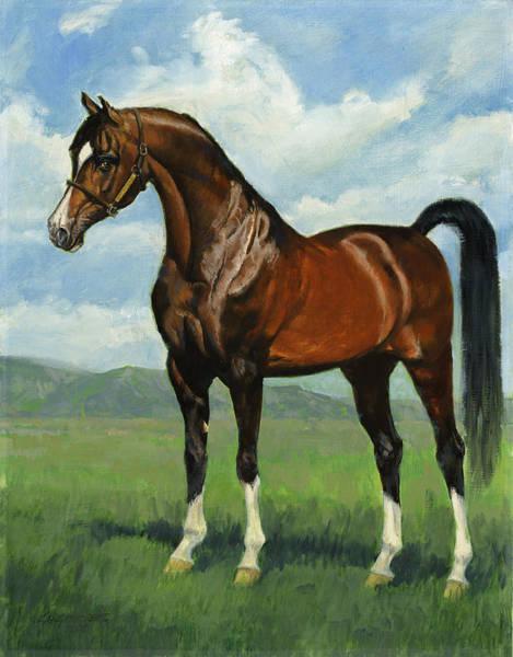 Wall Art - Painting - Khemosabi Champion Horse by Don  Langeneckert