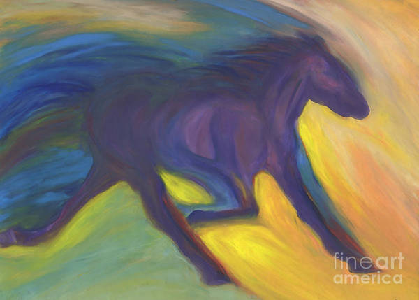 Jogging Painting - Horse Power By Jrr by First Star Art