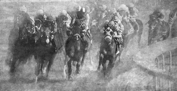 Wall Art - Photograph - Horse Race by Angie Vogel