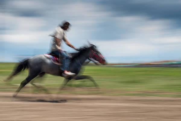 Photograph - Horse Racing by Okan YILMAZ