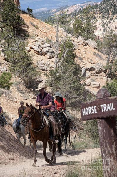 Photograph - Horse Riding In Bryce Canyon Utah by Brenda Kean