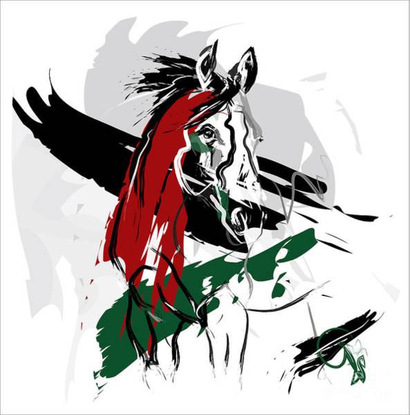 Painting - Horse Whis by Go Van Kampen