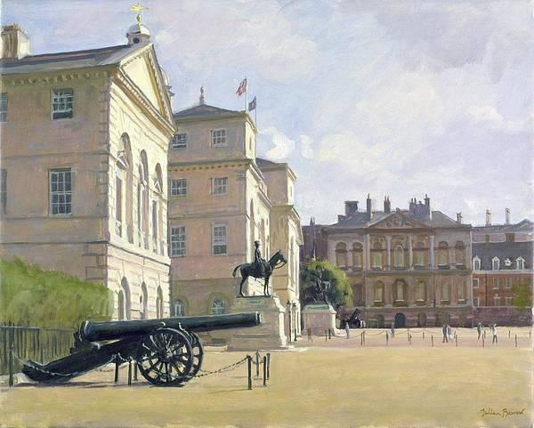 Georgian Photograph - Horseguards Oil On Canvas by Julian Barrow