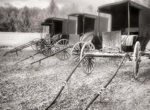Photograph - Horseless Carriages by William Beuther