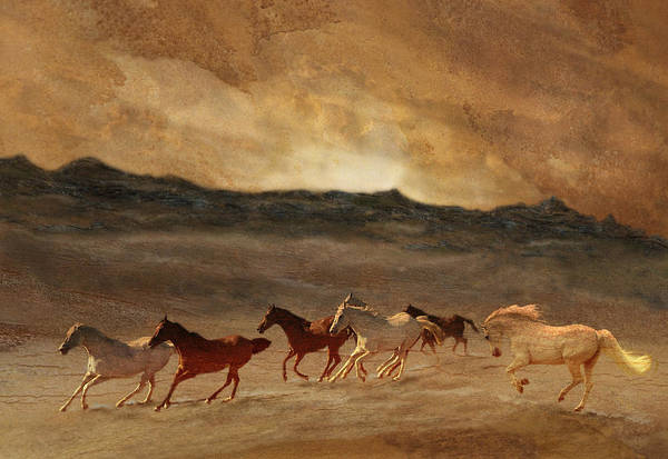 Photograph - Horses Of Stone by Melinda Hughes-Berland
