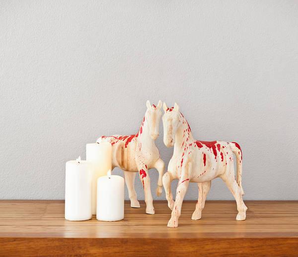 Photograph - Horses by U Schade