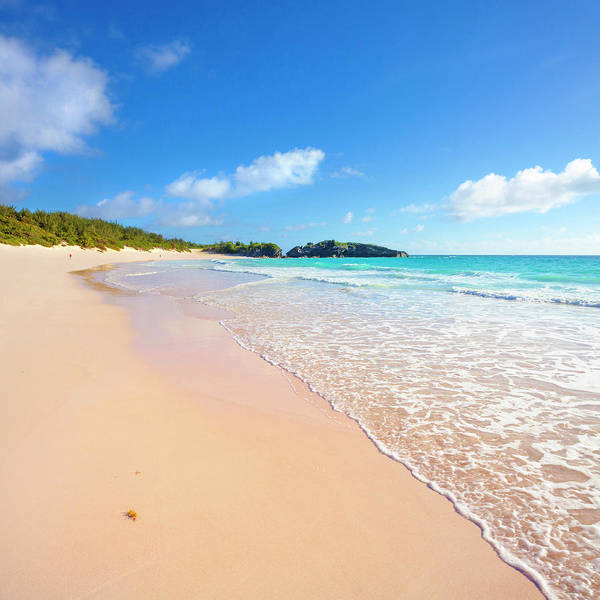 Horseshoe Bay Beach, Caribbean Sea Art Print by Slow Images
