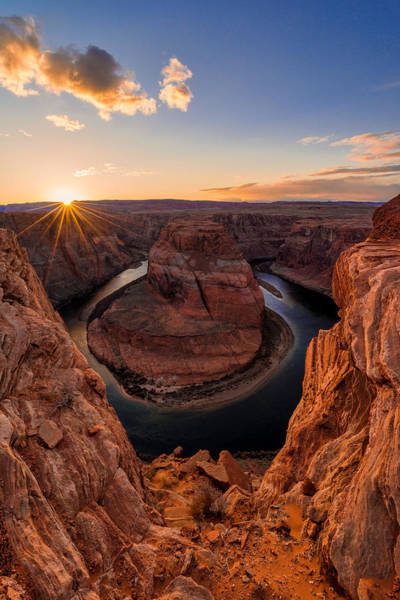 Southwest Photograph - Horseshoe Bend by Chad Dutson