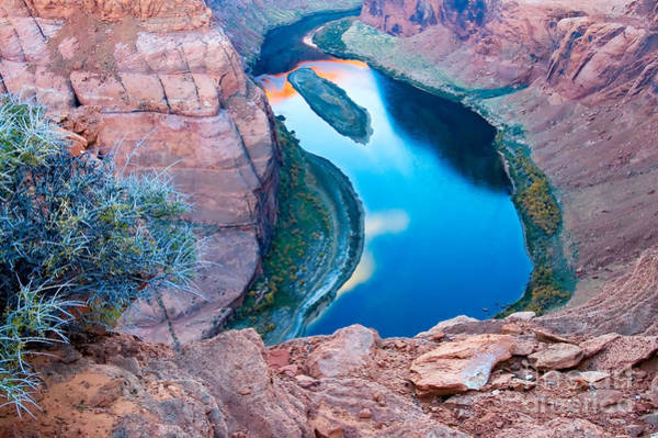 Photograph - Horseshoe Bend Rt. View by Mae Wertz