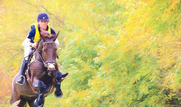 Fairhill Photograph - Horsey Green by Alice Gipson