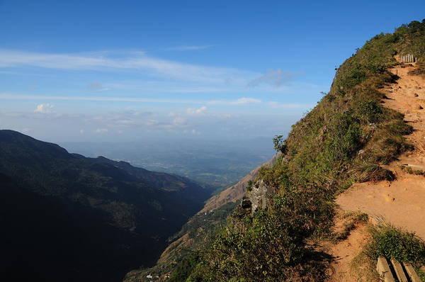Geology Photograph - Horton Plains National Park, Sri Lanka by Alan lagadu