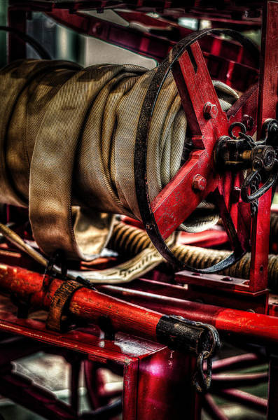 Photograph - Hose On The Reel by David Morefield