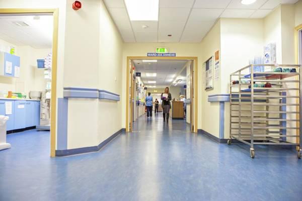 Corridor Photograph - Hospital Corridor by Lewis Houghton/science Photo Library