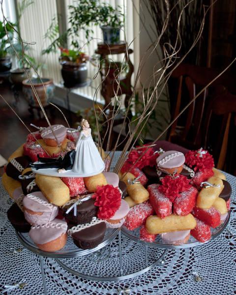 Photograph - Hostess Twinkie Cupcake Wedding Cake by Tikvah's Hope