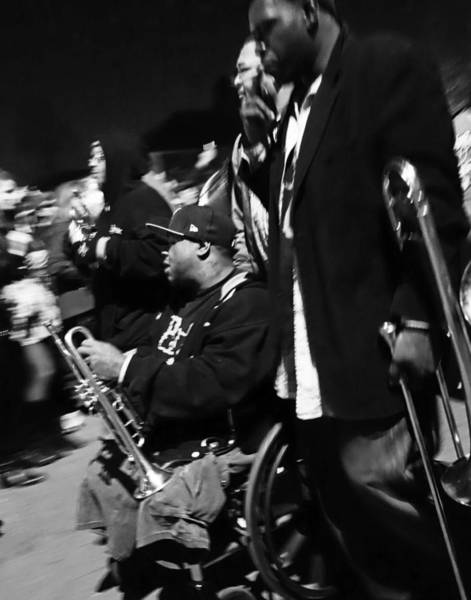 Photograph - Hot 8 Brass Band Of New Orleans by Louis Maistros