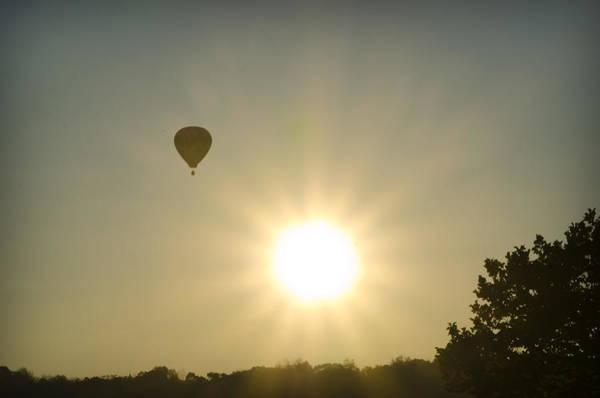 Photograph - Hot Air Balloon At Sunrise by Bill Cannon