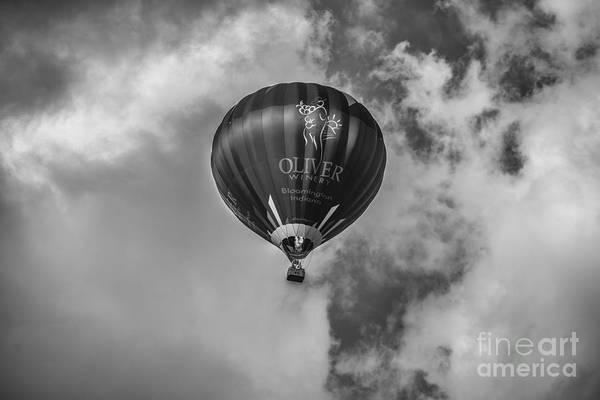 Photograph - Hot Air Balloon Ow 1 by David Haskett II