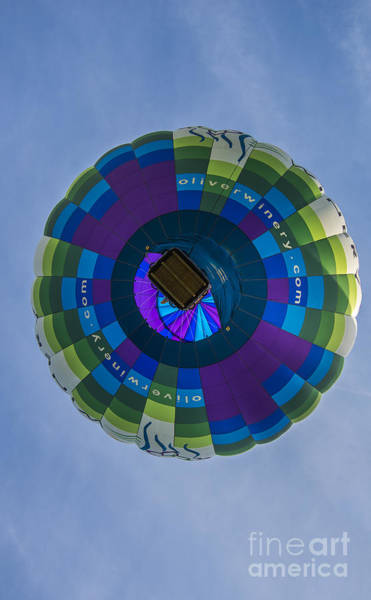 Photograph - Hot Air Balloon Ow 2 by David Haskett II