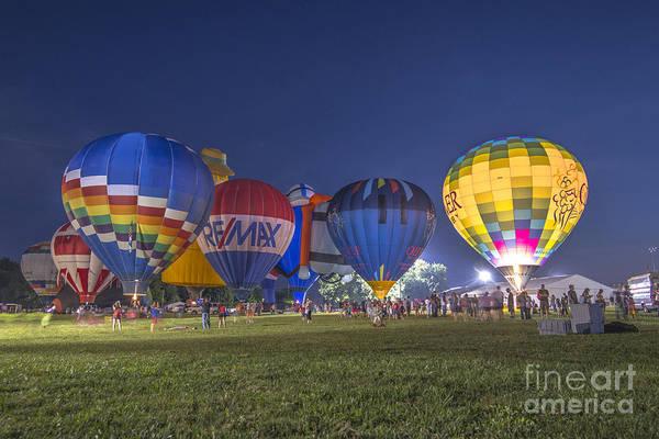 Photograph - Hot Air Balloon Ow 4 by David Haskett II